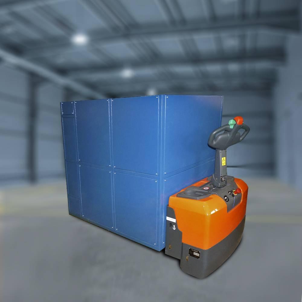 Тележка экипировки-разэкипировки дизелей самоходная (ТС-1)