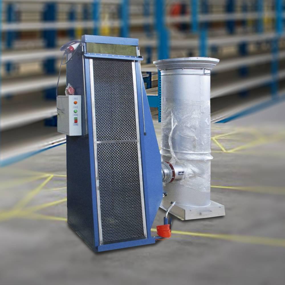 Установка продувки снегозащитных фильтров воздухозаборных жалюзи (УПСФ)
