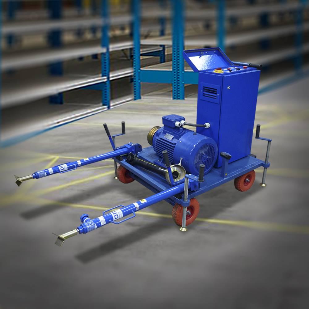 Установка прокрутки подвагонных генераторов (УПГ)