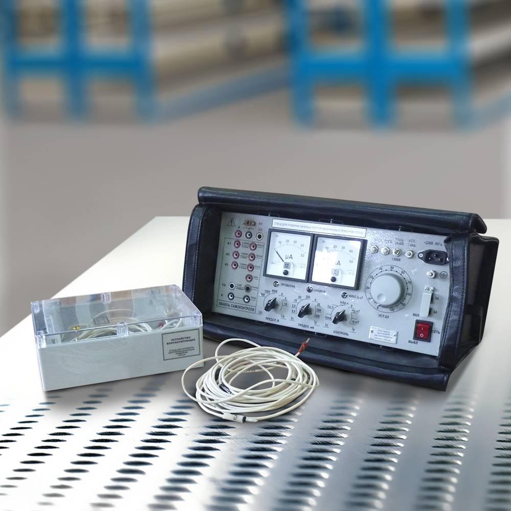 Стенд для проверки силовых полупроводниковых приборов (СПЭ-03)