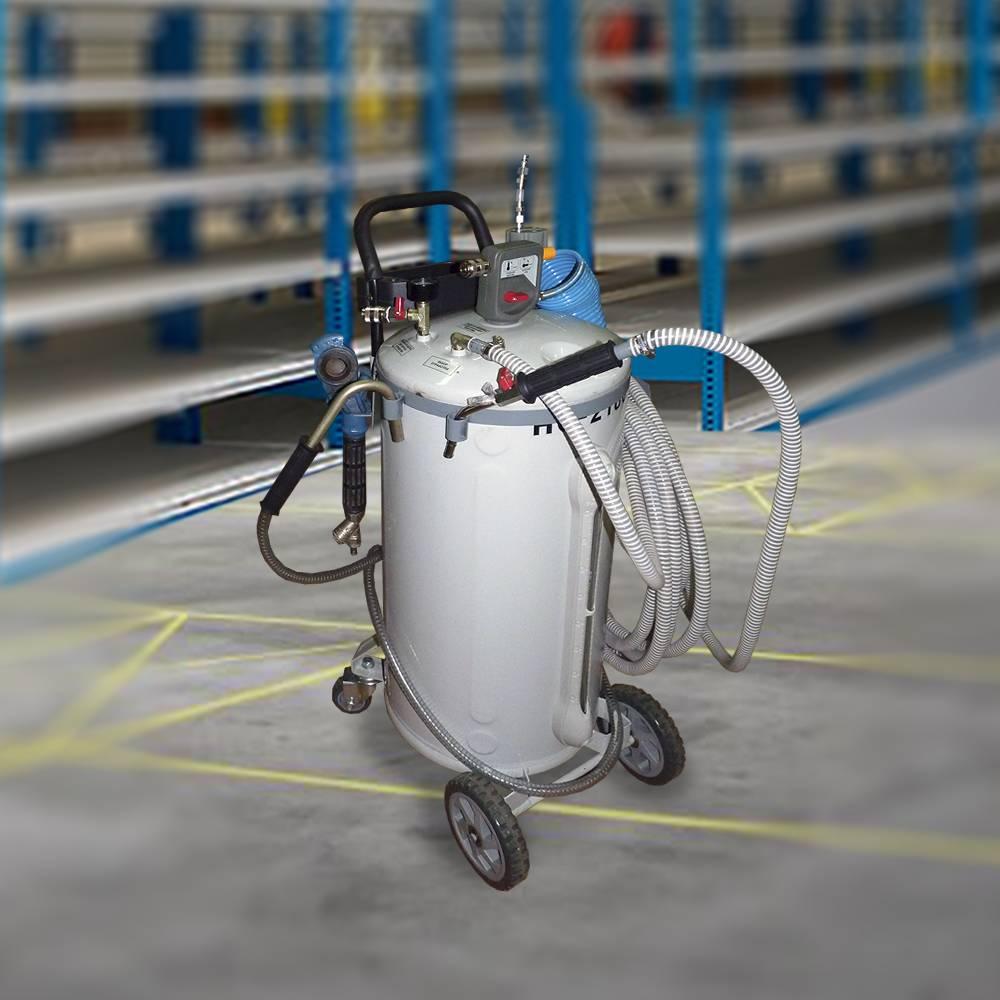 Вакуумное устройство для удаления масел, воды из поддонов агрегатов