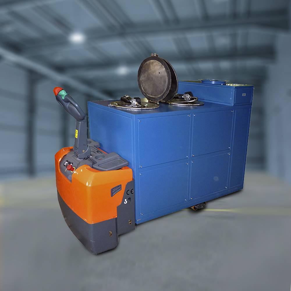 Тележка самоходная для экипировки смазочными материалами (ТС-2)