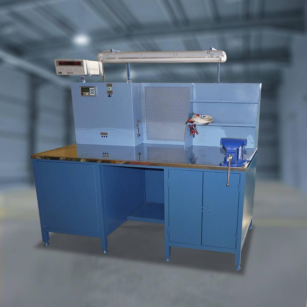 Специализированное рабочее место контроля электромагнитных контакторов (СРМ-АЦ МК)