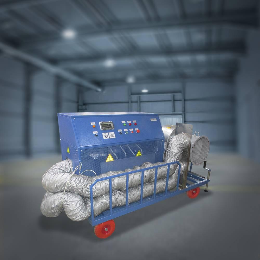Установка мобильная электрокалориферная для сушки ТЭД (МЭУ-ТЭД)