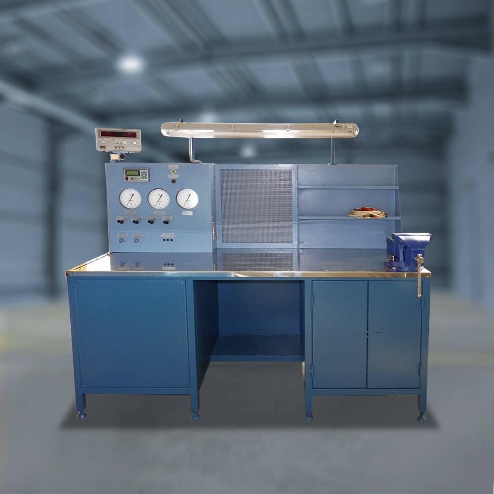 Специализированное рабочее место контроля электропневматических контакторов (СРМ-АЦ ПК)