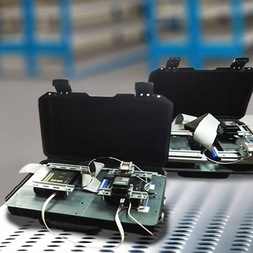 Устройство для проверки электромонтажа цепей управления ЭКК (СПЭ-12)