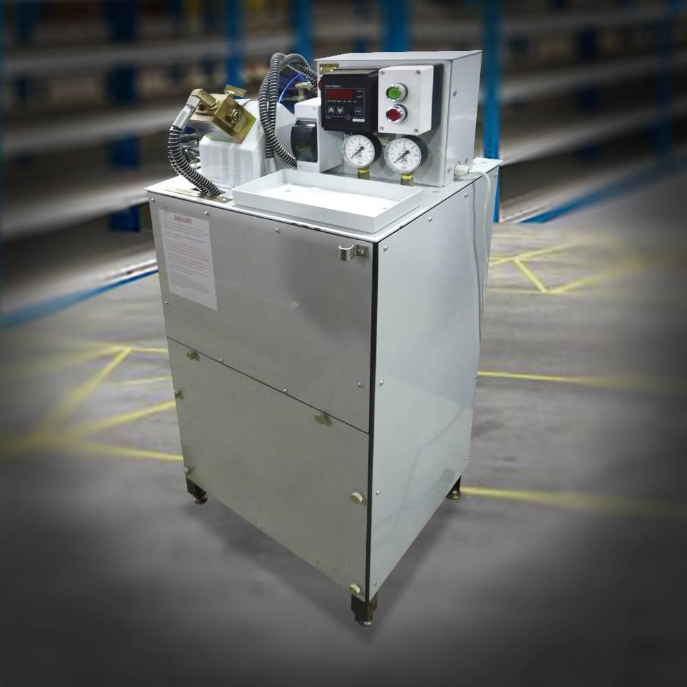 Стенд для испытания форсунок автоматического гребнсмазывателя (СИФГ)