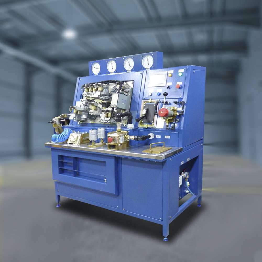 Стенд для испытания кранов машиниста № 130 (КСК.3-АвЦ КМ-130)