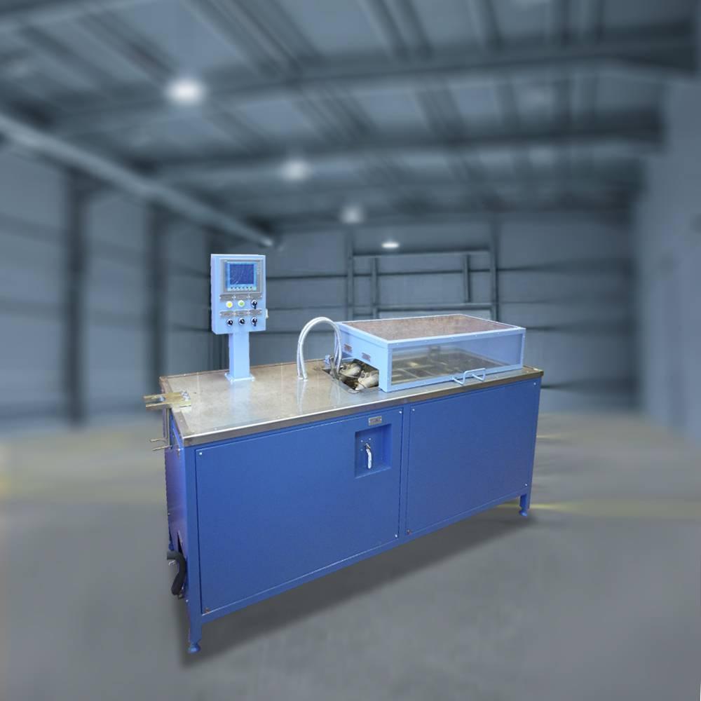 Стенд для испытания рукавов тормозной системы подвижного состава на прочность и герметичность (с ЭПТ) (СИПСР)