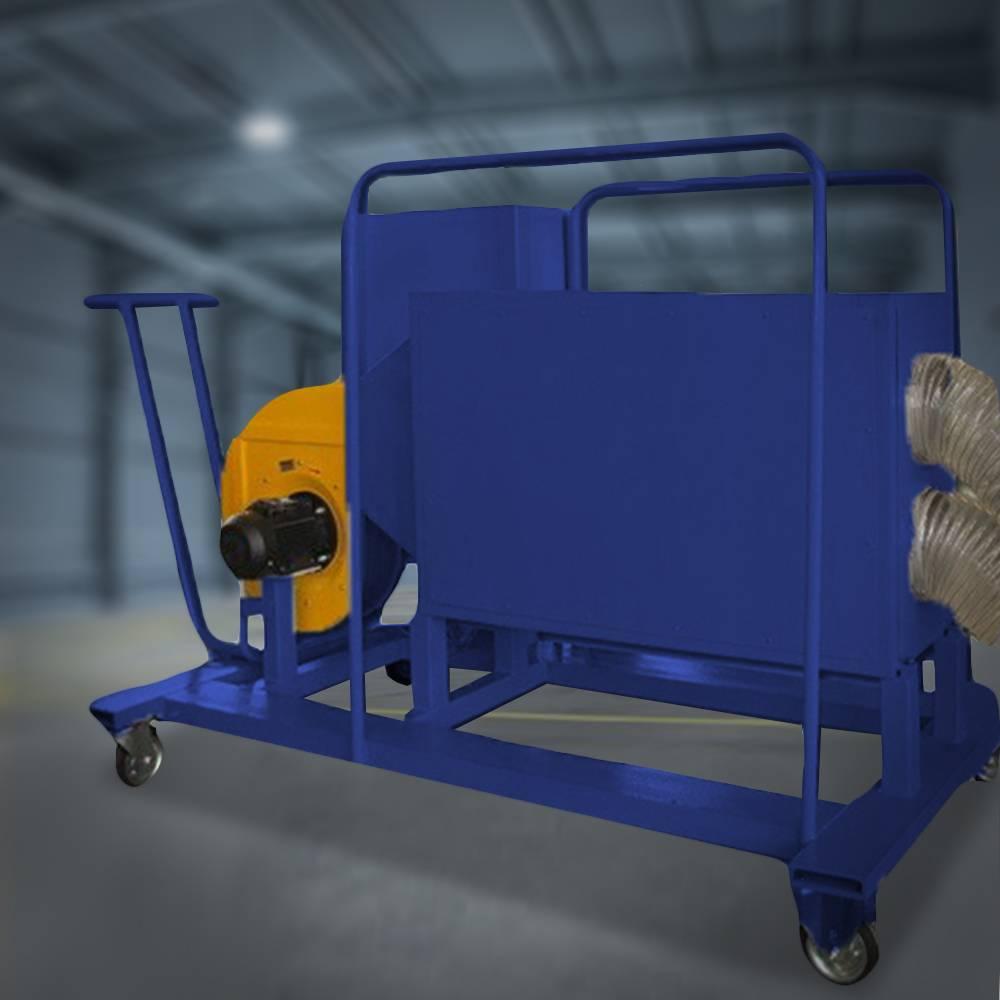 Электрокалориферная установка для сушки изоляции тяговых двигателей